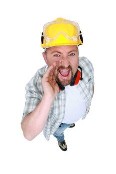 craftsman shouting