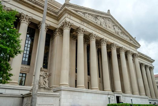 National Archives in Washington DC, USA