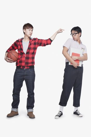 Nerd and bully