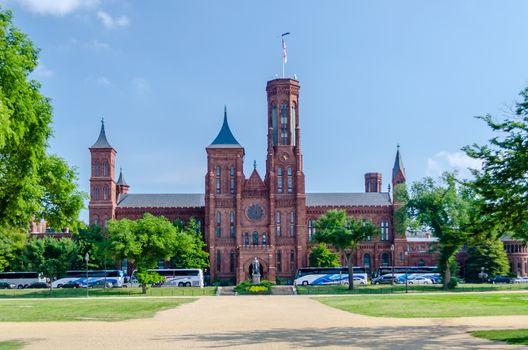 Smithsonian Castle, Washington DC, USA