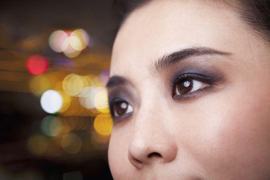 Smoky Eyes Close-Up