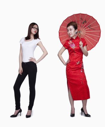 Traditional and casual clothing