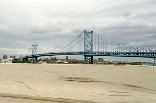 Benjamin Franklin Bridge, Philadelphia, USA