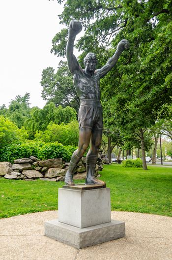Rocky Statue in Philadelphia, USA