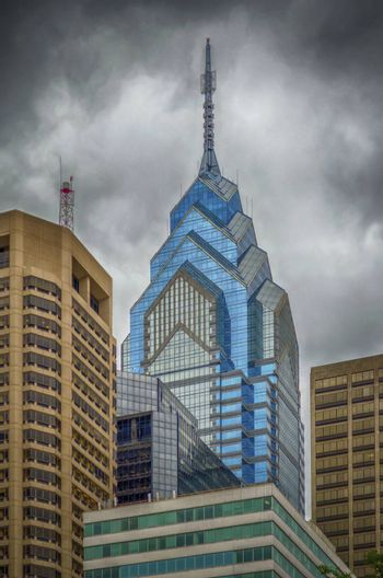 One Liberty Place, Skyscraper in Philadelphia, USA