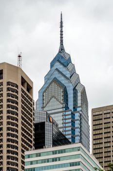 One Liberty Place, Skyscraper in Philadelphia, USA