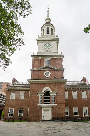 Independence Hall in Philadelphia, Pennsylvania, USA
