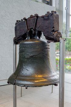 Liberty Bell in Philadelphia, Pennsylvania, USA