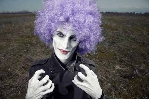 Maniac clown