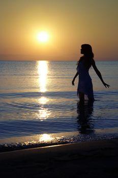 Pleasure of the sunset