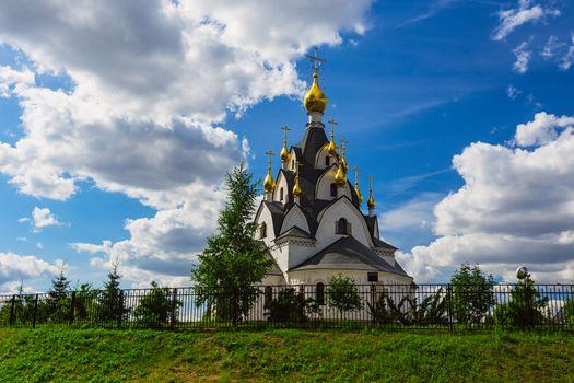 Chapel on Guryanov Street in Moscow