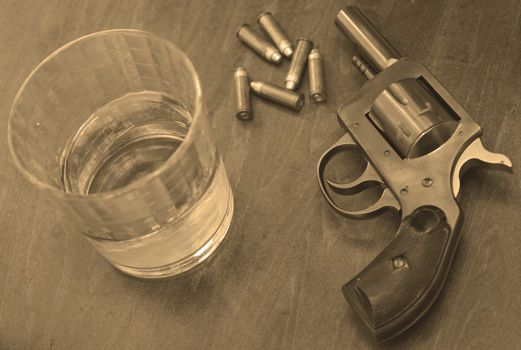 alcohol and fun or firearm