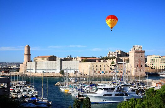 The  Fort Saint-Jean in Marseille City, France