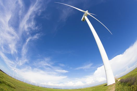 windmill and Wind power generation
