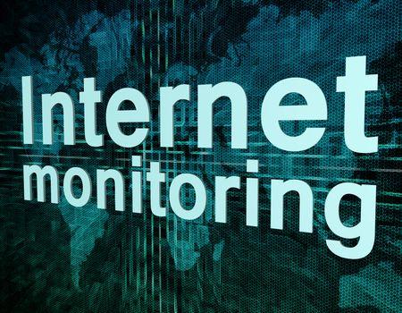 Internet monitoring
