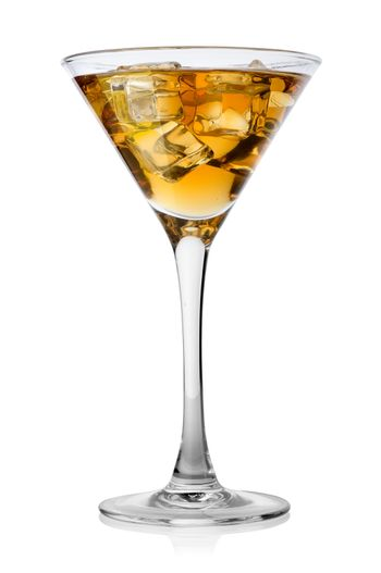 Brandy with ice