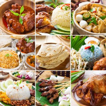 Asian food collection.