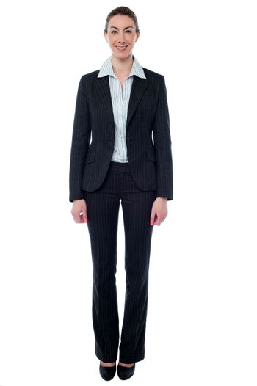Business professional, full length shot