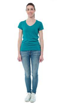 Full length shot of a trendy woman