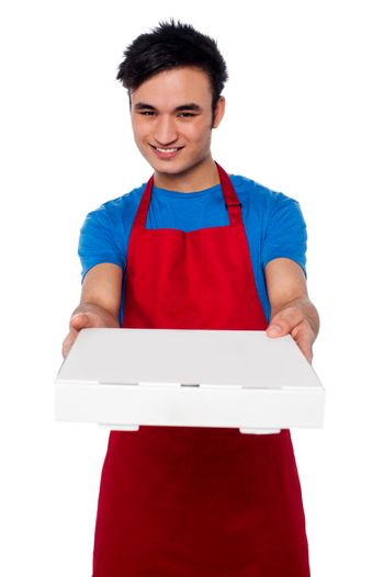 Here is your order sir!
