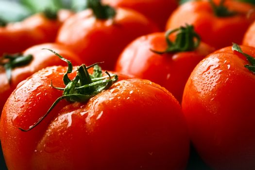 Tomatoes fruits
