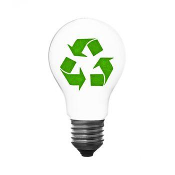 recycle lightbulb
