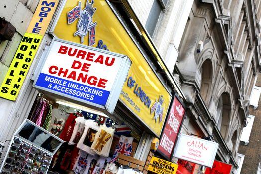 Bureau De Change Oxford Street London