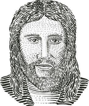 Jesus Christ Front View