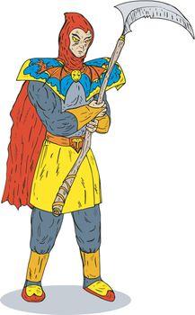 Super Hero Scythe