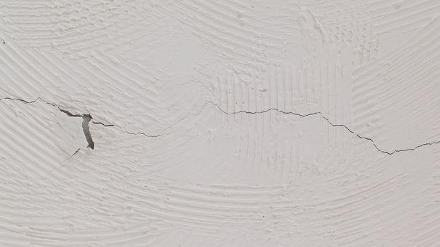 Old grey stucco wall