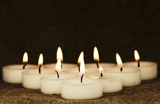 A group of candles