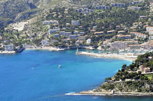 The harbor of Cassis in the south of France