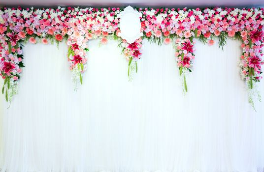 Flowers archway