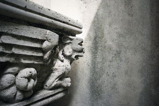Gothic statue