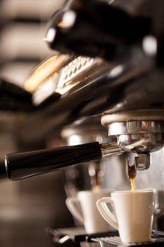Hot espresso coffee!