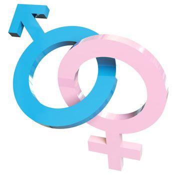 Heterosexual relationship sign