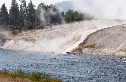Hot Meets the Cold at Yellowstone