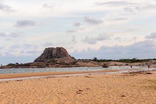Eastern coast of Sri Lanka in Yala National Park.