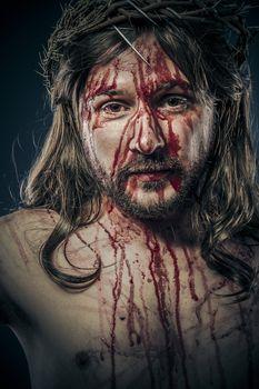 Jesus Christ, passion concept, religion picture