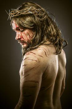 Jesus, viacrucis concept, religion picture
