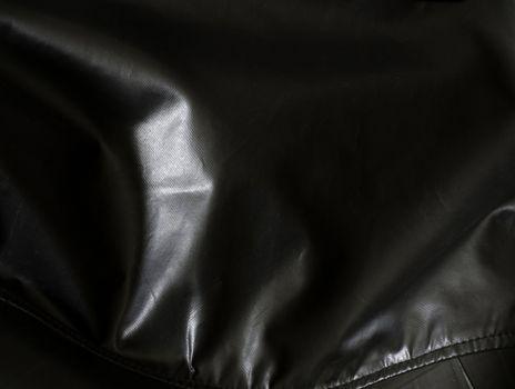 Black canvas texture
