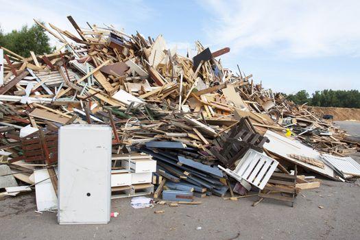 Rubbish dump