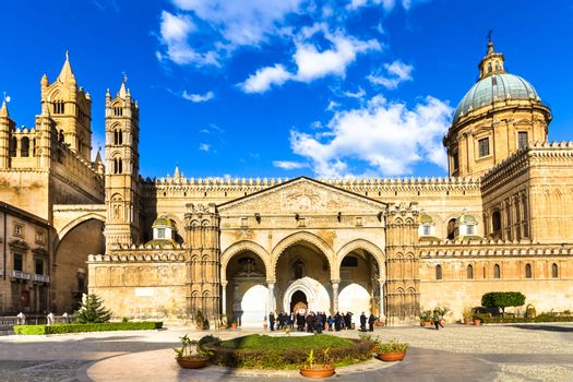 The Cathedral of Palermo, Italy.