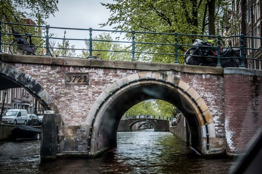 Bridge and waterway