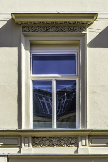 window of a historic building