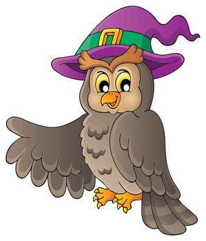 Owl theme image 2 - eps10 vector illustration.