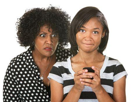 Parent Eavesdropping Teen Girl