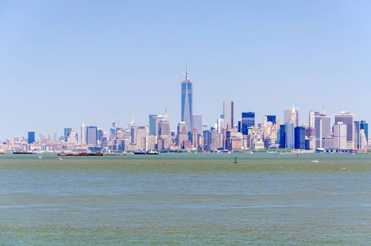 Manhattan Skyline, New York, USA