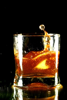 whiskey splash