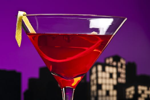 A cosmopolitan cocktail, or short cosmo, is a made with vodka, triple sec, cranberry juice, and freshly squeezed lime juice or sweetened lime juice.